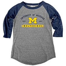 Mich Youth T Heat-Navy SM Ever