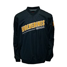 University of Michigan Wolverines Windshell Pullover