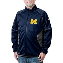Michigan Wolverines Stadium Softshell Jacket