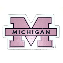 University of Michigan Magnet - Small 3 Block M Car Magnet