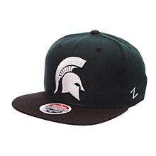 Michigan State University Rally Hat Green-White