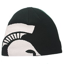 Michigan State University Peek Knit Forest Green
