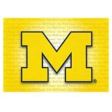 University of Michigan Get Well Soon Card