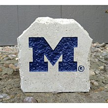 "University of Michigan 5.5in ""M"" Desk Stone"
