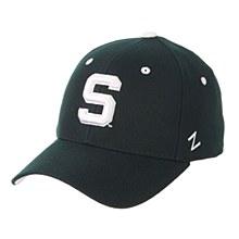 "Michigan State University DH ""S"" Green 7 5/8"