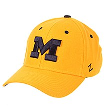 """University of Michigan Michigan ZH """"M"""" Gold"""