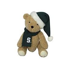 """Michigan State University 12"""" Christmas Bear"""