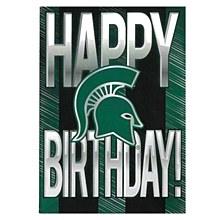 Michigan State University Happy Birthday Greeting Card