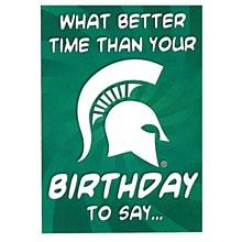 Michigan State University Birthday Greeting Card
