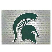 Michigan State Spartans Get Well Soon Card