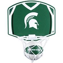 Michigan State University Basketball Hoop & Ball Set 12'' x 9''