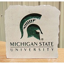 Michigan State University 11in Stone