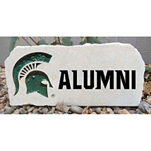 Michigan State University 17in Alumni Stone