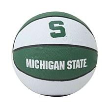 Michigan State University Basketball - Mini Rubber Basketball 7.5''