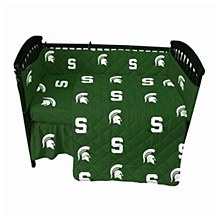 Michigan State Spartans 5 piece Baby Crib Set