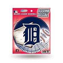Detroit Tigers Custom Round Decal