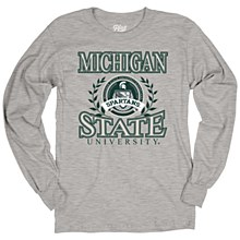 Michigan State University Mill Dyed Long Sleeve Tee