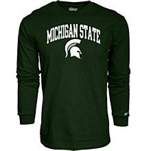 Michigan State University Men's Mill Dyed Long Sleeve T-Shirt