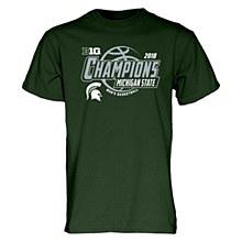 Michigan State Big Ten Champs Locker Room T Shirt