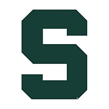 Michigan State University Magnet 3'' x 5''