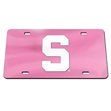 Michigan State Spartans Acrylic Classic License Plate