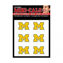 University of Michigan Tattos Face Decal