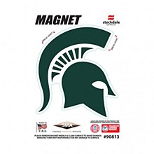 "Michigan State University Outdoor Magnets 3"" x 5"""