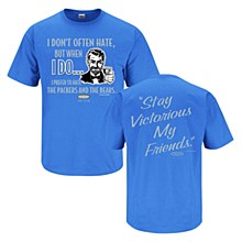 Detroit Lions Stay Victorious Tee Iris