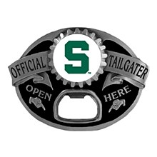 Michigan State University Tailgater Belt Buckle