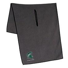 "Michigan State Spartans Towel - Grey Microfiber 19"" x 41"""