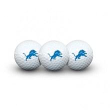 Detroit Lions Golf Balls 3 Pack
