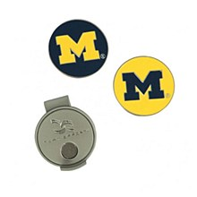 Michigan State University Golf Hat Clip & Markers