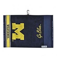 University of Michigan Golf Jacquard Towel 16'' x 24''
