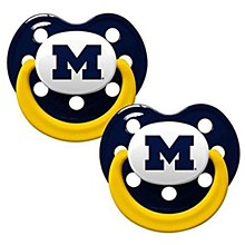 University of Michigan Pacifiers (2 Pack)