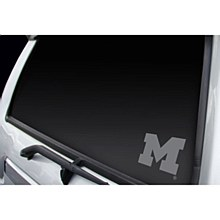 University of Michigan Decal Professional Window Graphics