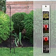 Metal Garden Flag Stand