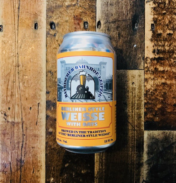 Berliner With Oats - 12oz Can