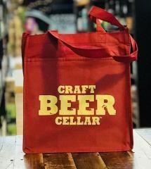 Cbc 6-bottle Reusable Bag Red