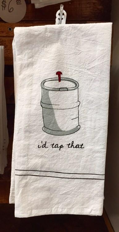 I'd Tap That Bar Towel