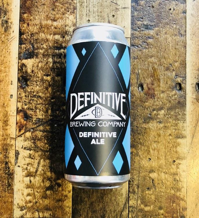 Definitive Ale – 16oz Can