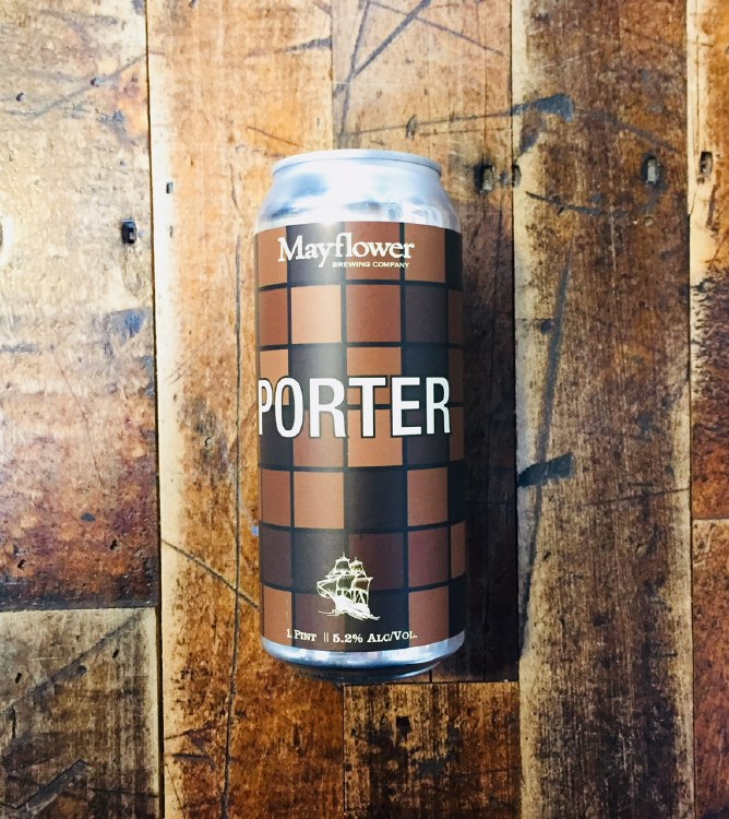 Mayflower Porter - 16oz Can
