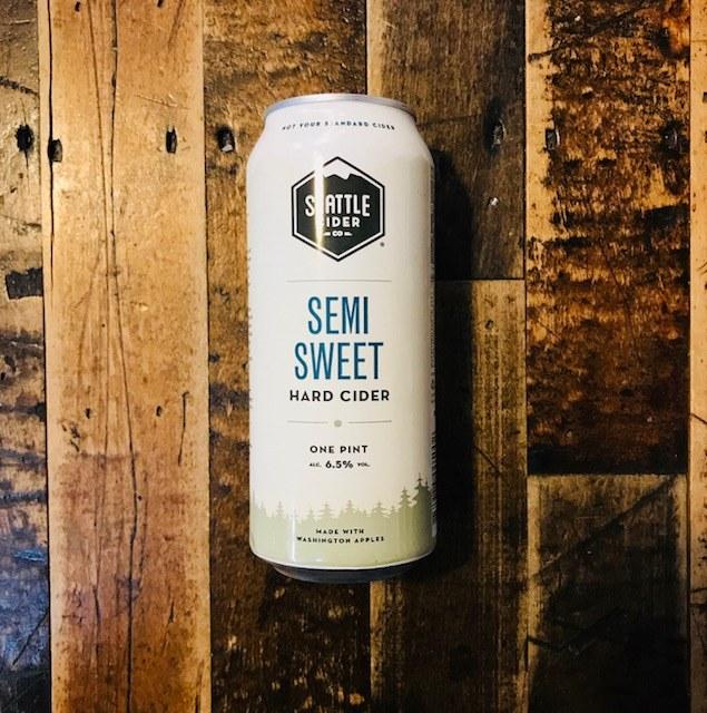 Semi Sweet Cider - 16oz Can