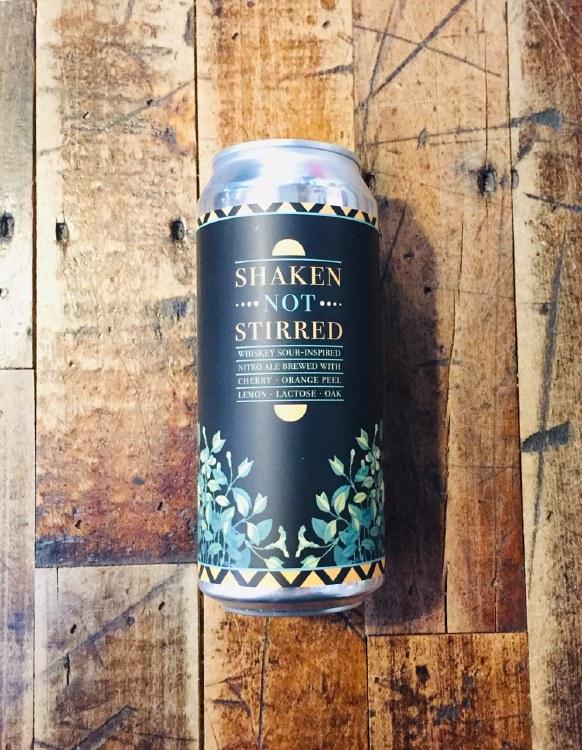 Shaken Not Stirred - 16oz Can