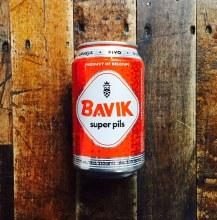 Bavik Pilsner - 330ml Can