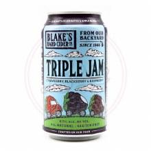 Triple Jam Cider - 12oz Can