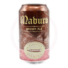 Maduro Brown Ale - 12oz Can