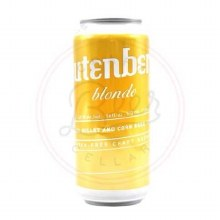 Glutenberg Blonde - 16oz Can