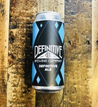 Definitive Ale – 16oz Can
