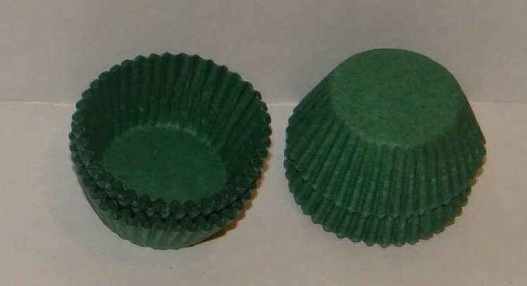 #4 Green Candy Cups/80 Pkg