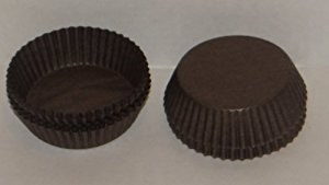 #601 Brown Candy Cups/80 Pkg